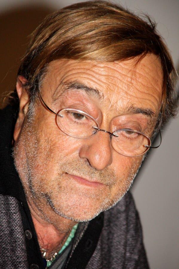 ιταλικός τραγουδοποιός του Lucio dalla στοκ φωτογραφία