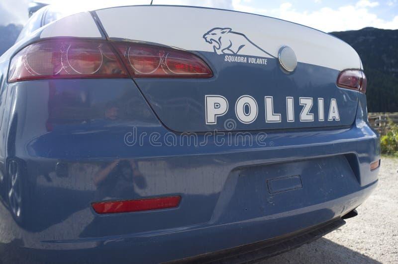 Ιταλικό περιπολικό της Αστυνομίας Sudtirol στοκ εικόνες