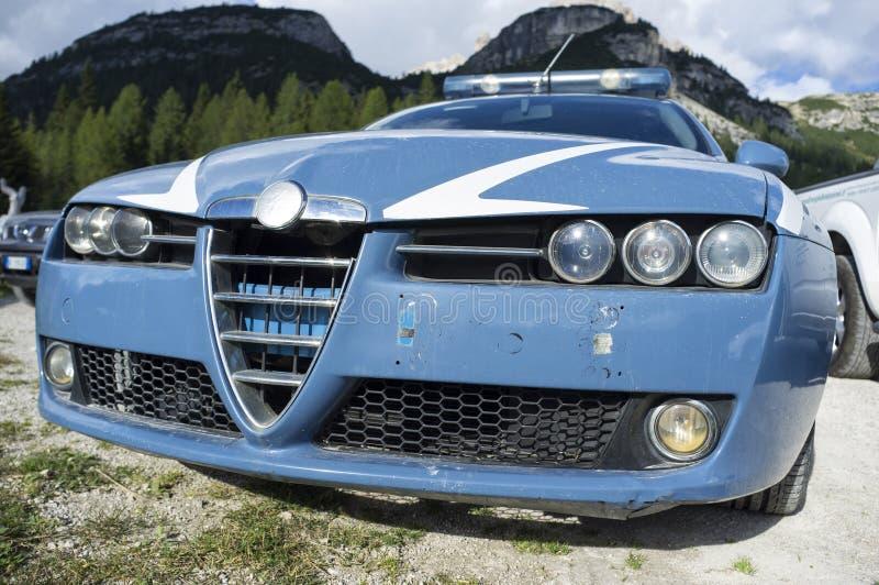 Ιταλικό περιπολικό της Αστυνομίας Sudtirol στοκ εικόνα