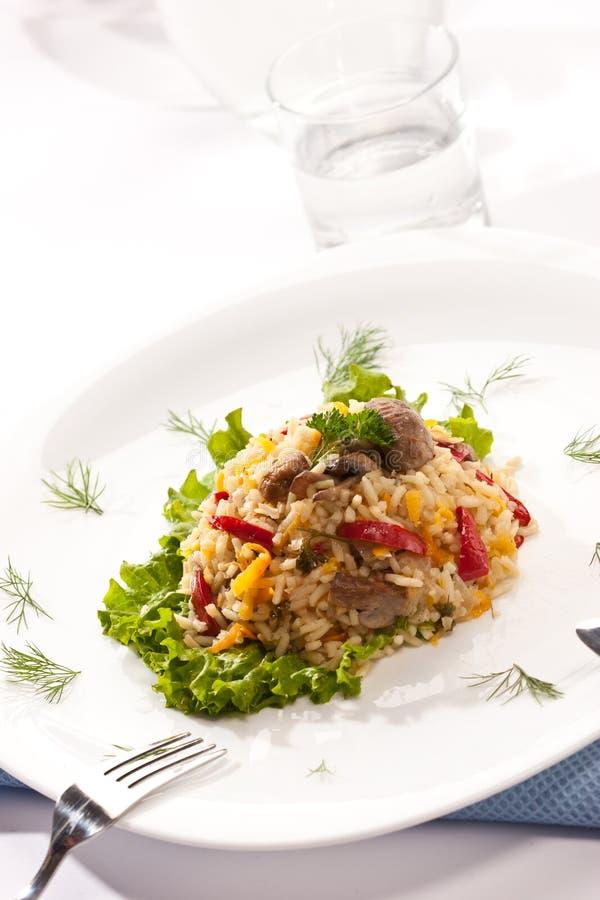 ιταλικό risotto στοκ εικόνες