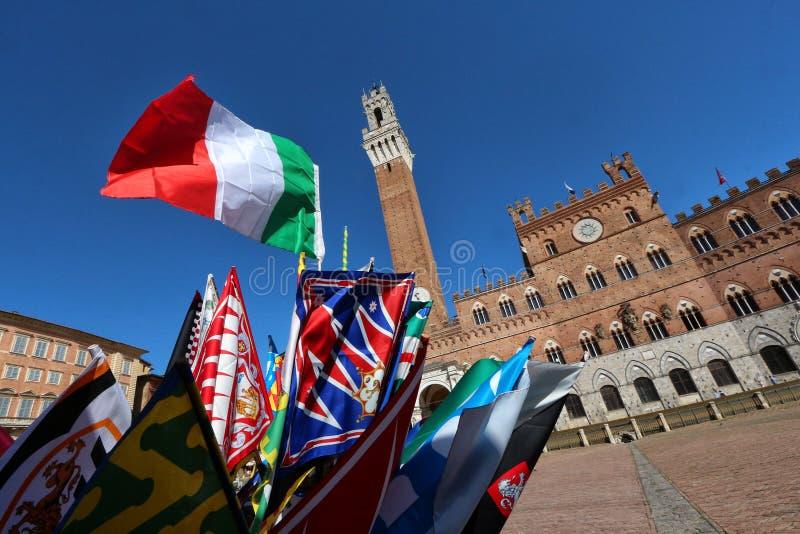 Ιταλία Σιένα Τοσκάνη στοκ εικόνα
