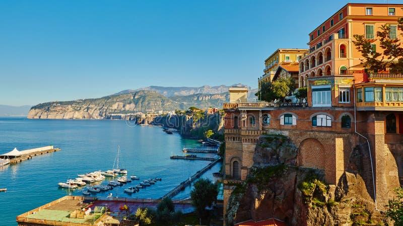 Ιταλία Σορέντο Ευρωπαϊκό θέρετρο στοκ εικόνα με δικαίωμα ελεύθερης χρήσης