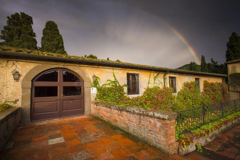 Ιταλία, Τοσκάνη, Πίζα, Castello Ginori Di Querceto στοκ εικόνες