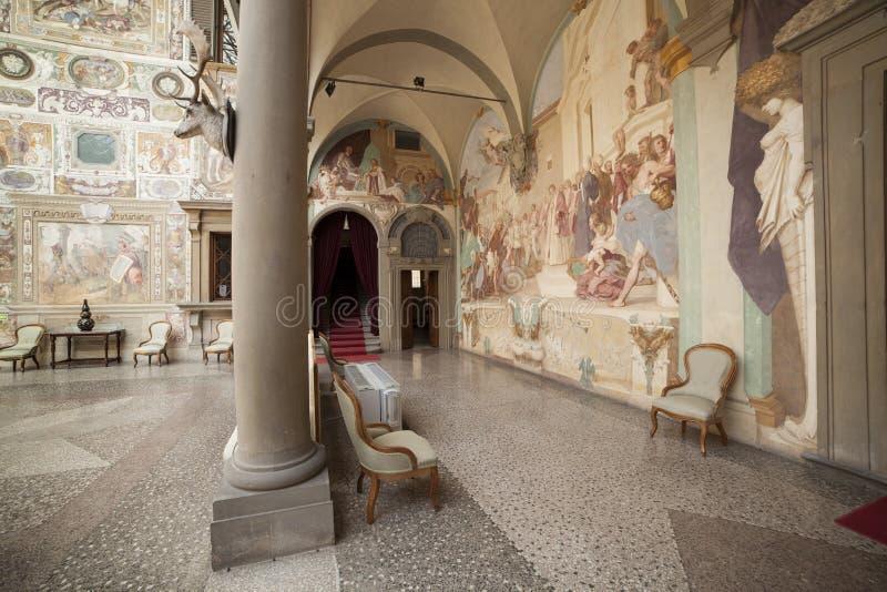 Ιταλία, Τοσκάνη, Φλωρεντία, βίλα Petraia στοκ φωτογραφία