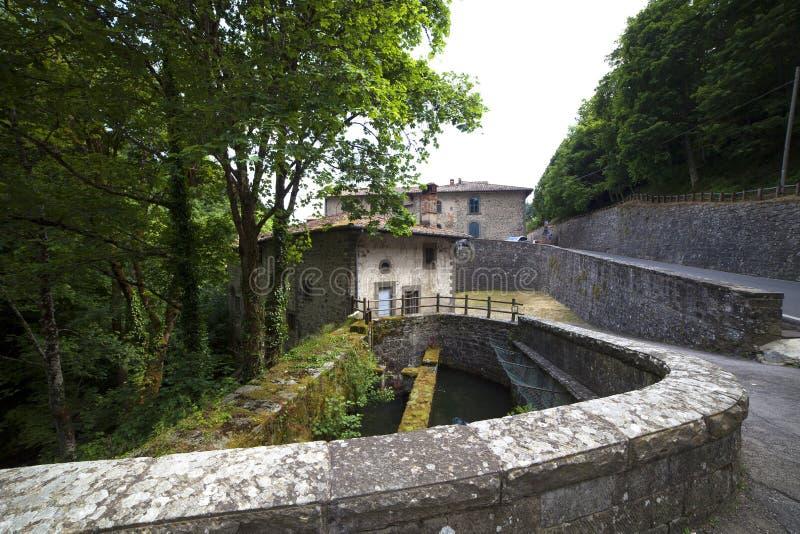 Ιταλία, Τοσκάνη, Camaldoli στοκ φωτογραφία με δικαίωμα ελεύθερης χρήσης