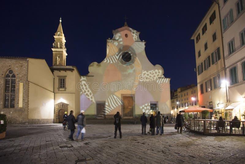 Ιταλία, Φλωρεντία, η εκκλησία Santo Spirito στοκ φωτογραφίες με δικαίωμα ελεύθερης χρήσης