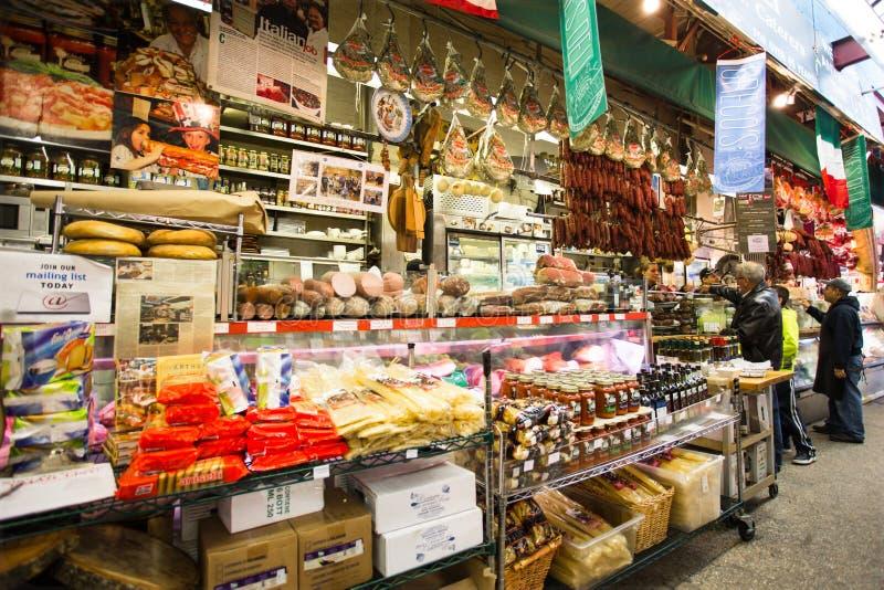 Ιταλική αγορά Άρθουρ Ave Bronx NYC στοκ φωτογραφία με δικαίωμα ελεύθερης χρήσης