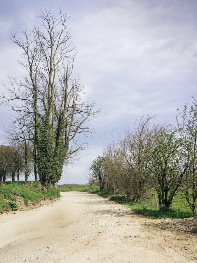 Ιταλική επαρχία κοντά σε Ozzero στοκ φωτογραφίες