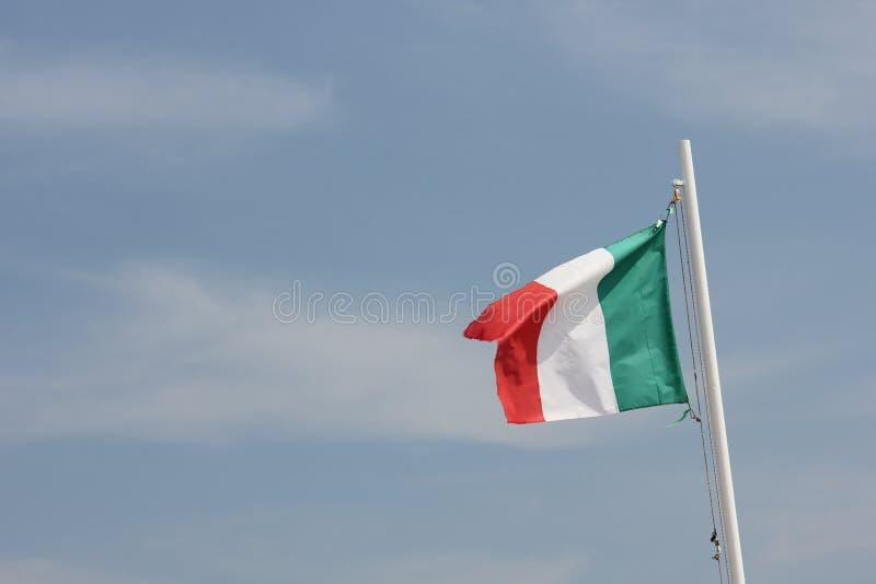 Ιταλική σημαία (Tricolore) στοκ φωτογραφίες με δικαίωμα ελεύθερης χρήσης