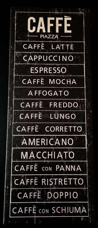 Ιταλικός καφές στοκ φωτογραφία με δικαίωμα ελεύθερης χρήσης