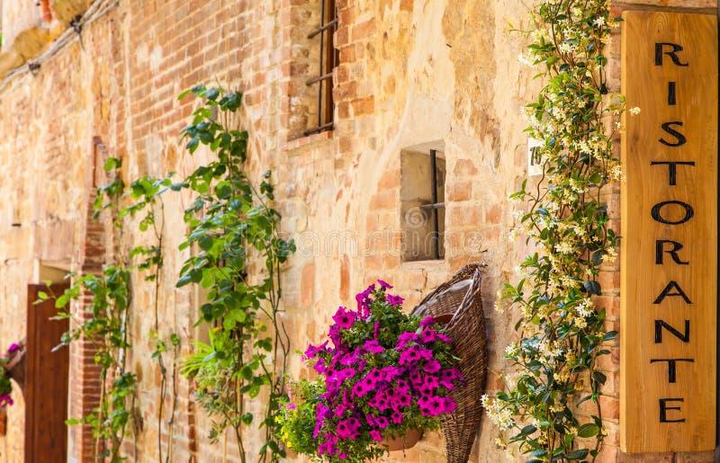 Ιταλικό εστιατόριο στοκ εικόνες