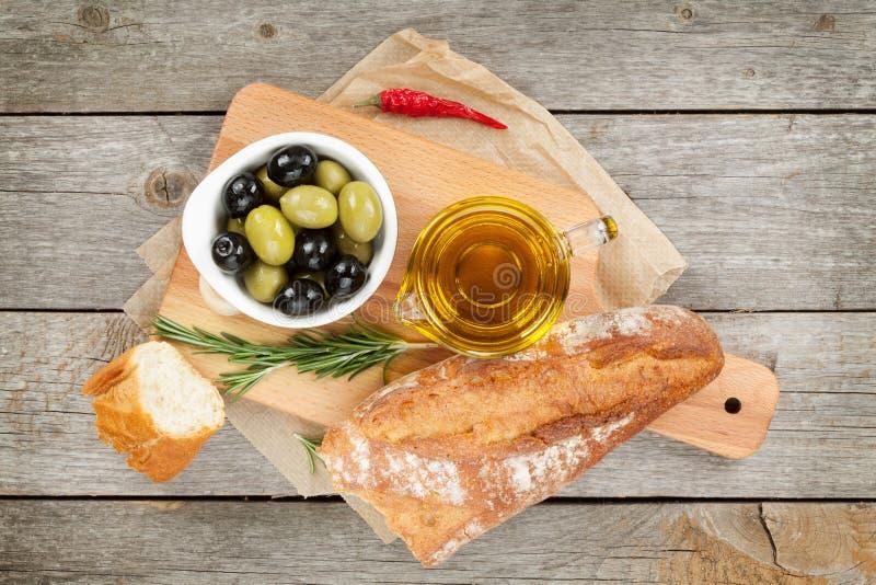 Ιταλικό ορεκτικό τροφίμων στοκ φωτογραφία