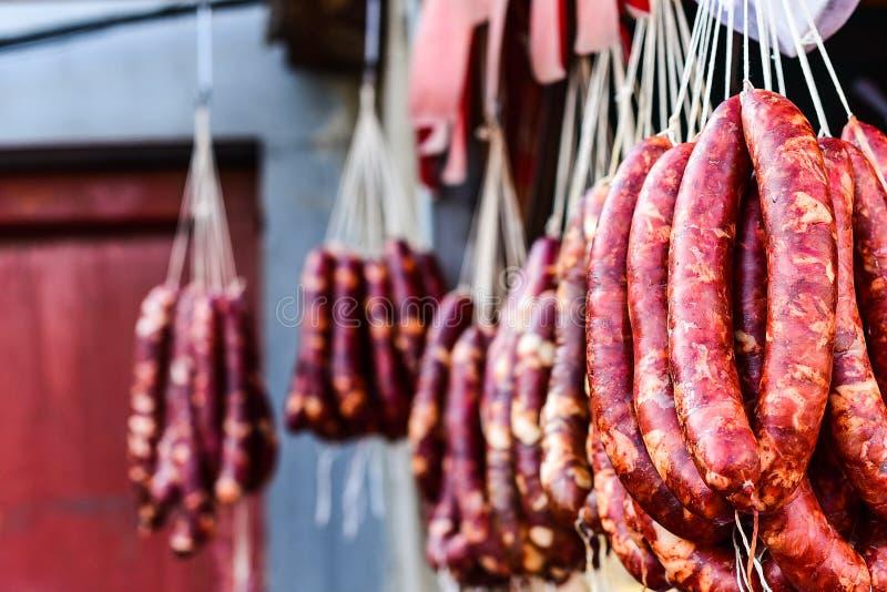 Ιταλικό λουκάνικο χοιρινού κρέατος στοκ φωτογραφίες με δικαίωμα ελεύθερης χρήσης