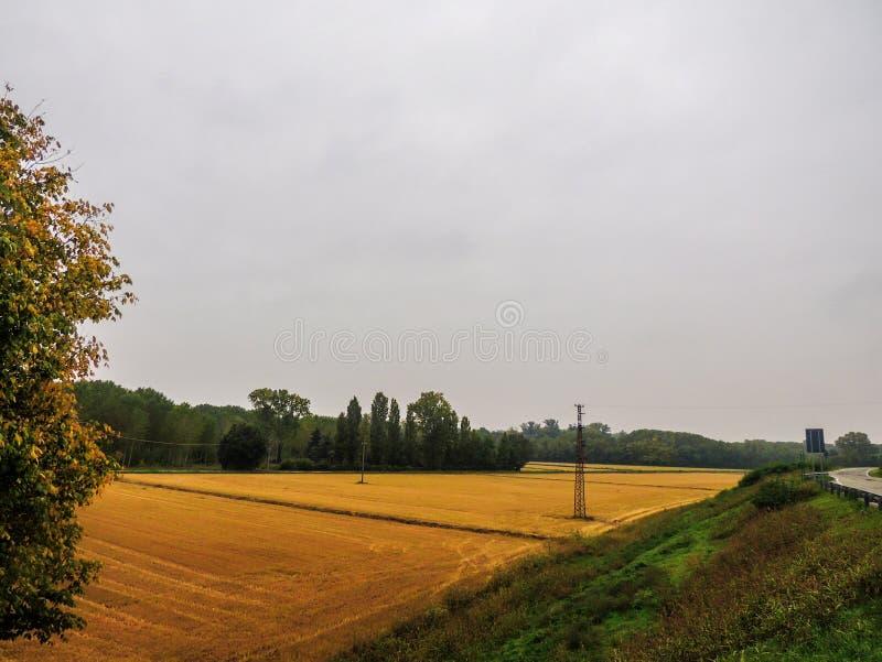ιταλικό τοπίο αγροτικό στοκ φωτογραφία με δικαίωμα ελεύθερης χρήσης