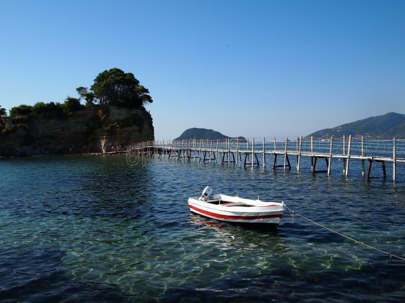 Ιόνιος-θάλασσα στοκ εικόνα με δικαίωμα ελεύθερης χρήσης
