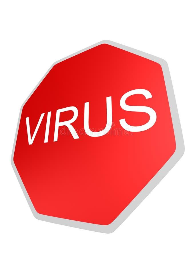 ιός σημαδιών ελεύθερη απεικόνιση δικαιώματος