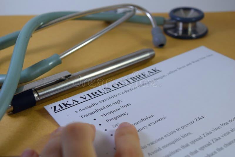 Ιός Zika στοκ φωτογραφίες με δικαίωμα ελεύθερης χρήσης