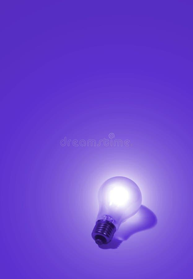 Ιώδης ηλεκτρικός βολβός στοκ φωτογραφία με δικαίωμα ελεύθερης χρήσης