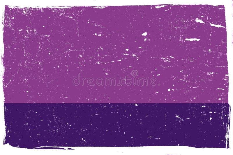 Ιώδες και άσπρο Grunge ελεύθερη απεικόνιση δικαιώματος