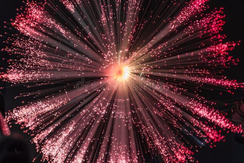 Ιώδης ελαφριά έκρηξη στοκ εικόνα με δικαίωμα ελεύθερης χρήσης