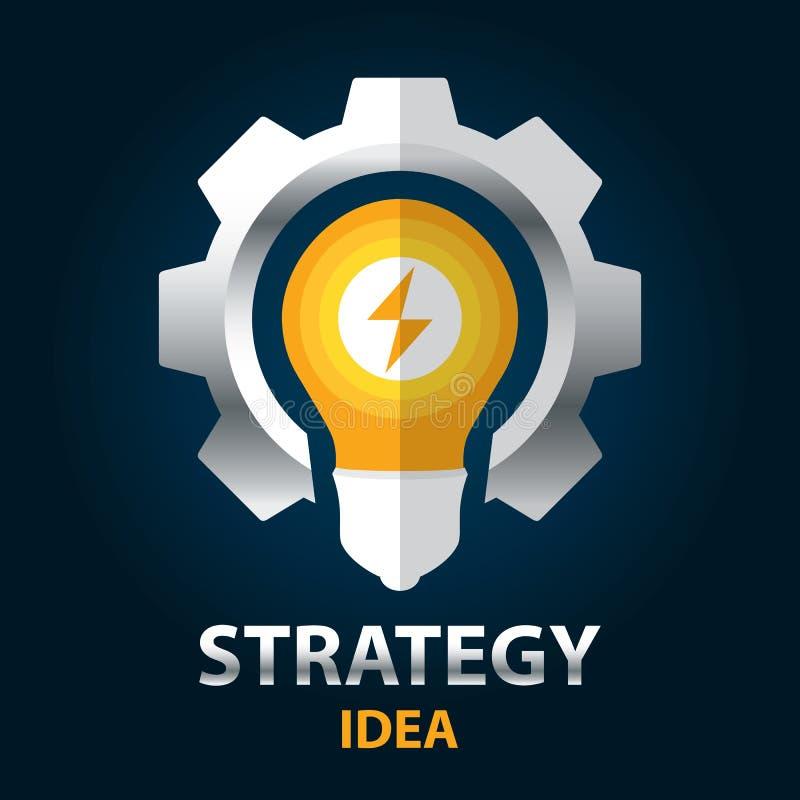 Ιδέα στρατηγικής ελεύθερη απεικόνιση δικαιώματος