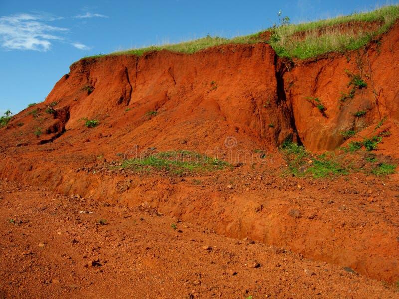 ι ινδικό κόκκινο χώμα στοκ φωτογραφία με δικαίωμα ελεύθερης χρήσης