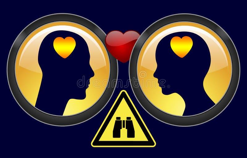 Ιδιωτικές έρευνες στο διαζύγιο ελεύθερη απεικόνιση δικαιώματος