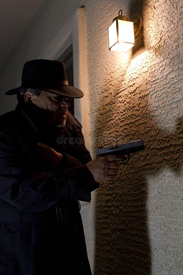 Ιδιωτικός αστυνομικός αστυνομίας στοκ εικόνα με δικαίωμα ελεύθερης χρήσης