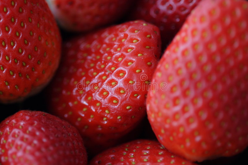ι φράουλες στοκ εικόνα με δικαίωμα ελεύθερης χρήσης