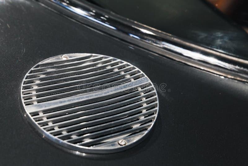 Κάγκελα αεραγωγού εισαγωγής Εκλεκτής ποιότητας μέρη αυτοκινήτων πολυτέλειας στοκ φωτογραφίες
