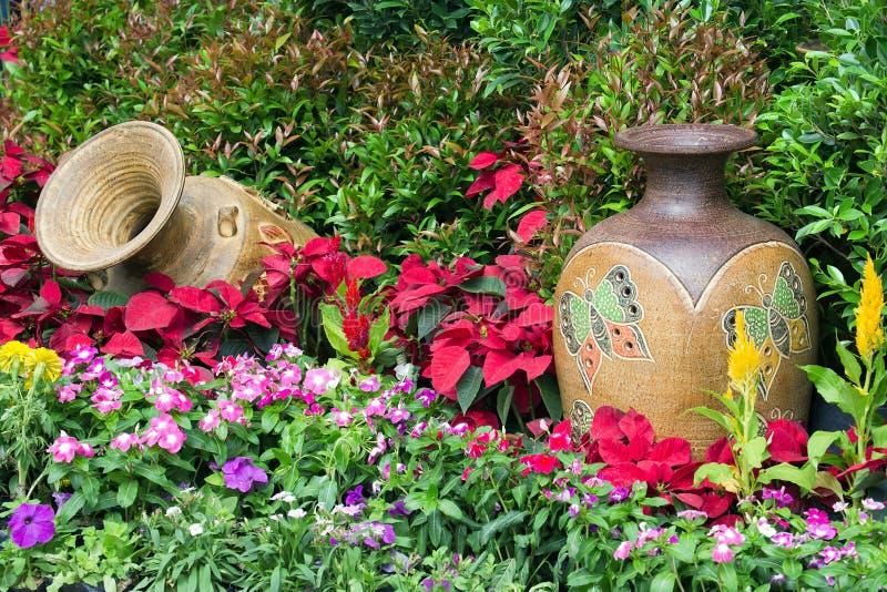 Κάθετη διακόσμηση κήπων στοκ εικόνες