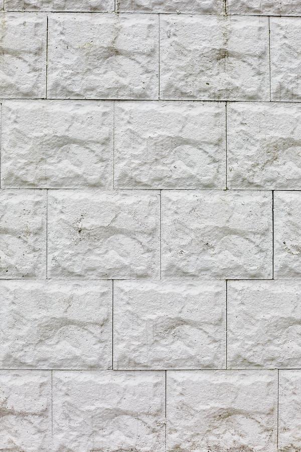 Κάθετος τοίχος υποβάθρου, τσιμεντένιοι ογκόλιθοι που χρησιμοποιούνται για την παραγωγή των τοίχων στοκ εικόνες