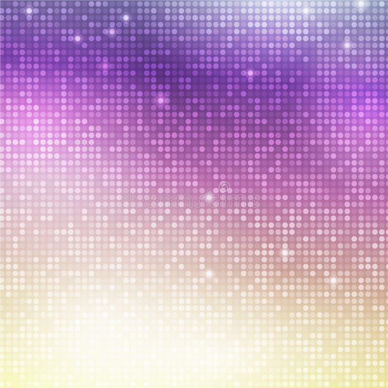 Κάθετο μωσαϊκό disco ελεύθερη απεικόνιση δικαιώματος