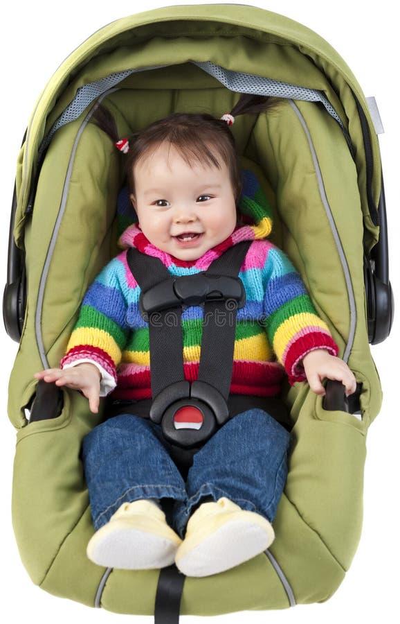 κάθισμα αυτοκινήτων μωρών στοκ φωτογραφίες