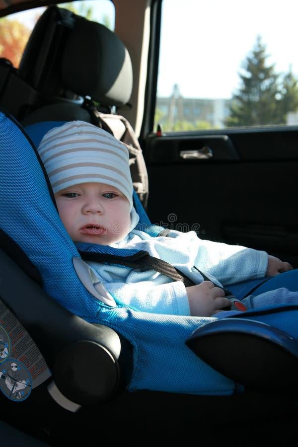 κάθισμα αυτοκινήτων μωρών στοκ εικόνα