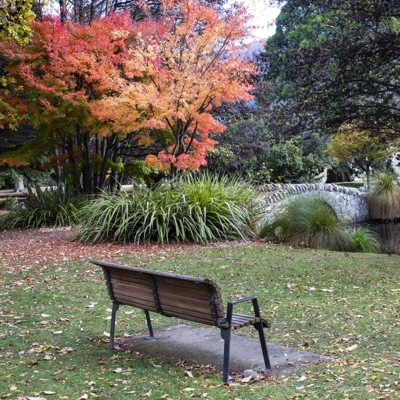Κάθισμα κήπων, κήποι Queenstown στοκ φωτογραφίες