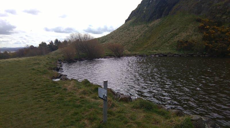Κάθισμα και λίμνη του Άρθουρ στοκ εικόνα με δικαίωμα ελεύθερης χρήσης