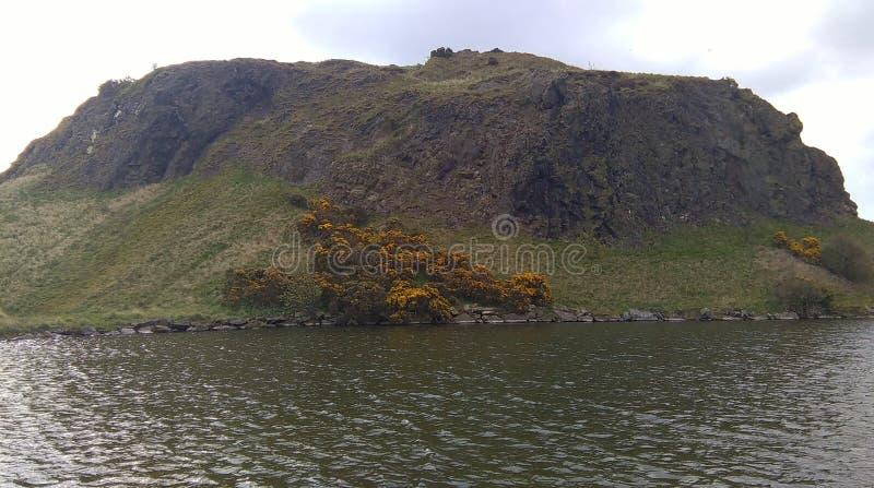 Κάθισμα και λίμνη του Άρθουρ στοκ φωτογραφία