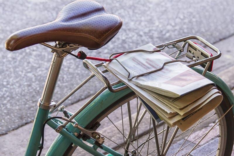 Κάθισμα και ρόδα ποδηλάτων στοκ φωτογραφία με δικαίωμα ελεύθερης χρήσης