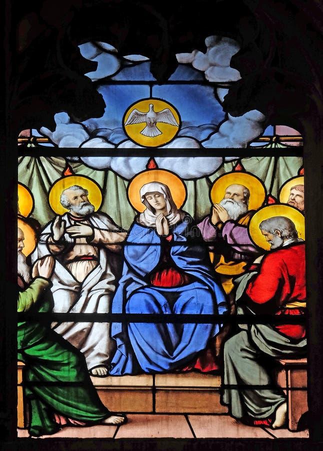 Κάθοδος του ιερού πνεύματος στοκ εικόνες με δικαίωμα ελεύθερης χρήσης