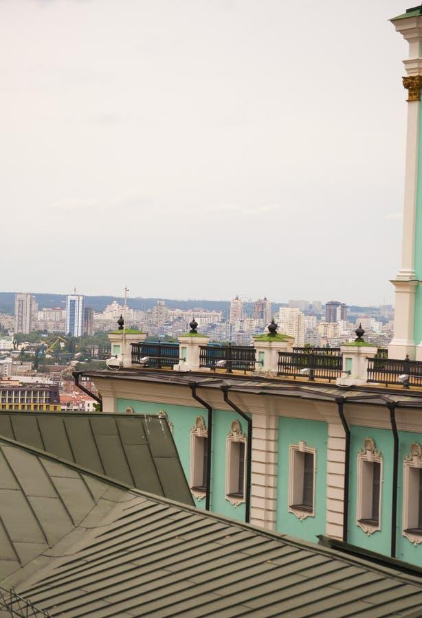 Κάθοδος του ST Andrew ` s στο Κίεβο, Ουκρανία στοκ εικόνες με δικαίωμα ελεύθερης χρήσης