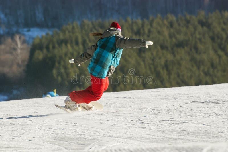 Κάθοδος από το βουνό στοκ φωτογραφίες με δικαίωμα ελεύθερης χρήσης