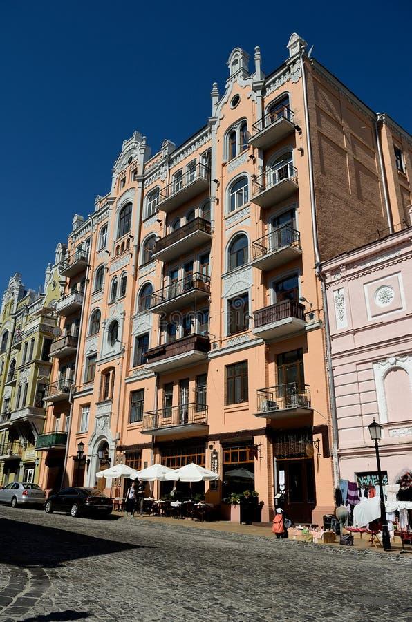 Κάθοδος Andriyivskyy, Κίεβο στοκ εικόνες