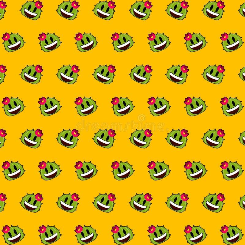 Κάκτος - σχέδιο 04 emoji απεικόνιση αποθεμάτων