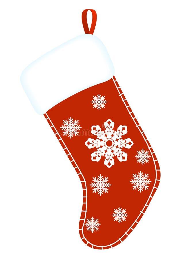 κάλτσα Χριστουγέννων ελεύθερη απεικόνιση δικαιώματος