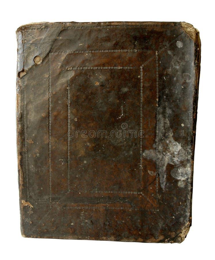 κάλυψη Βίβλων παλαιά Στοκ Εικόνα