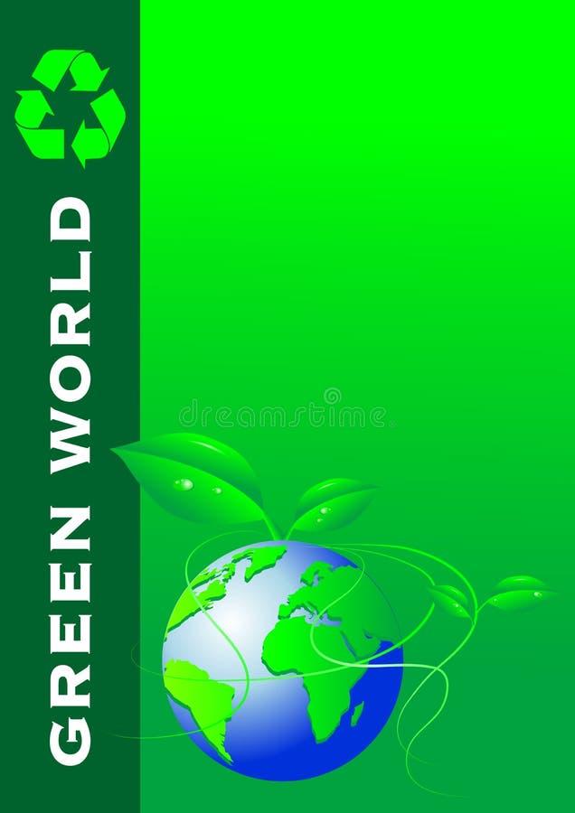 κάλυψη επαγγελματικών καρτών φυλλάδιων ελεύθερη απεικόνιση δικαιώματος
