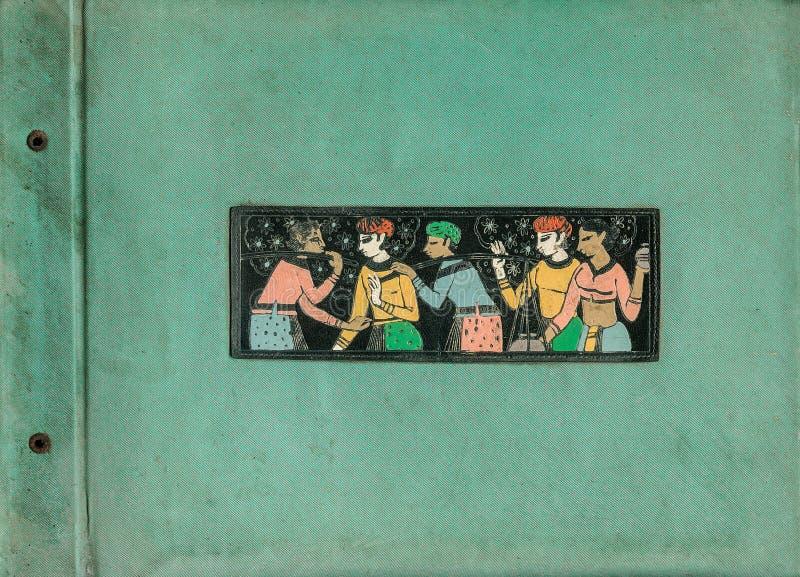 Κάλυψη λευκωμάτων 1965-Kon Kalyan στοκ φωτογραφία με δικαίωμα ελεύθερης χρήσης