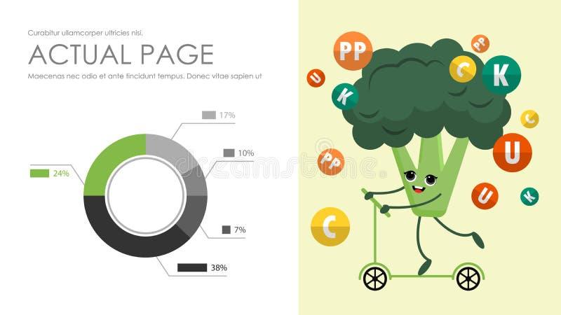 Κάλυψη φυλλάδιων που χρησιμοποιείται στο μάρκετινγκ και τη διαφήμιση διανυσματική απεικόνιση