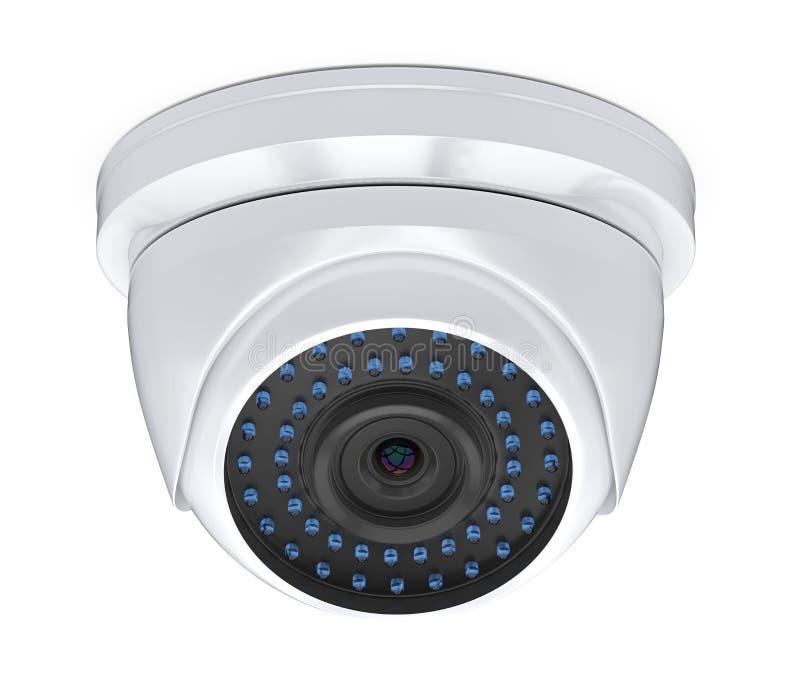 Κάμερα ασφαλείας CCTV θόλων που απομονώνονται απεικόνιση αποθεμάτων